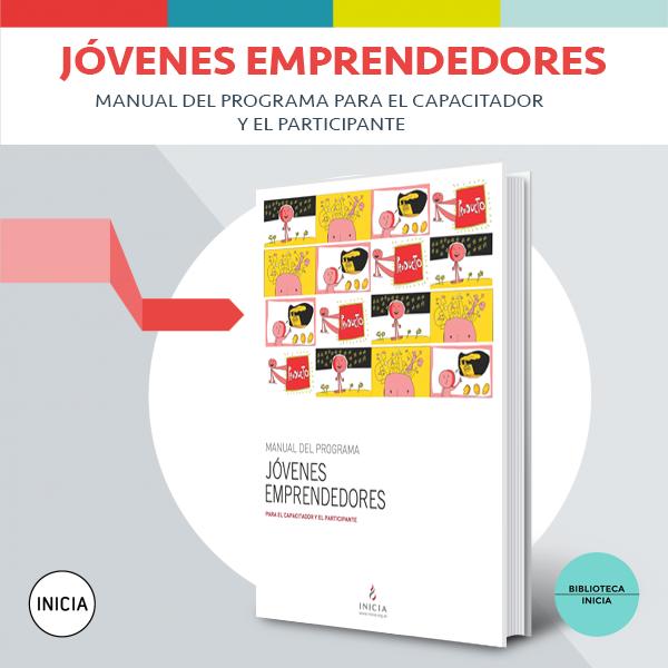 """Portada libro """"Manual para jóvenes emprendedores"""""""
