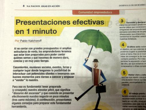 Presentaciones efectivas en un minuto